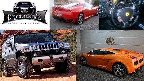 ALQUILER COCHES EXCLUSIVE LUXURY CARS RENTAL EN IBIZA - EIVISSA -