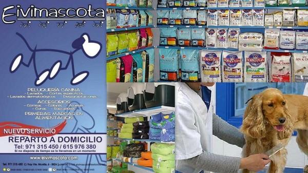 Peluqueria Canina EIVIMASCOTA    Calle Fray Vicente Nicolás,  6 07800  Ibiza (Eivissa)                     Telf.  (+34)  971 315 450  -  615 976 380   Abierto desde 2003 ofreciendo a sus clientes una