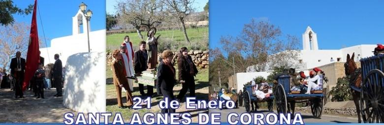 21 de enero, SANTA INES DE CORONA, AGNÉS, - IBIZA - EIVISSA
