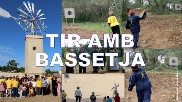 TIR AMB BASSETJA - TIRO CON HONDA - IBIZA - EIVISSA