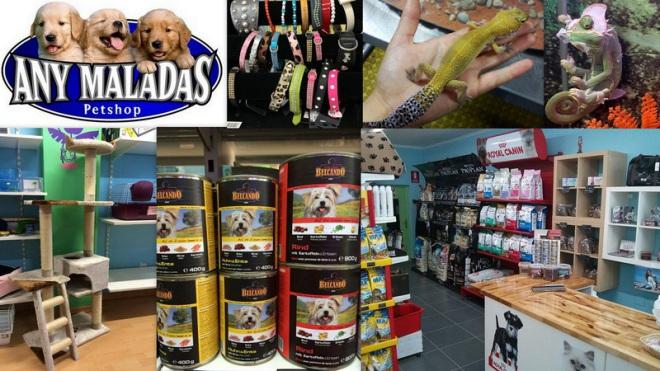 ANY-MALADAS  Petshop    Avenida España,  50  (Frente Consell) 07800  Ibiza (Eivissa)                     Telf.  (+34)  971 30 77 88   Anymaladas, tu tienda de mascotas en Ibiza, donde encontrarás tod