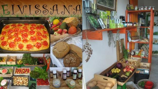 EIVISSANA tienda de alimentos naturales - frutas - verduras - Sant Miquel - Ibiza - Eivissa