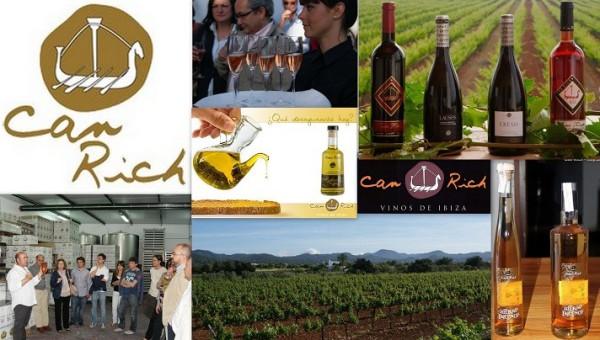 Bodegas y Viñedos CAN RICH DE BUSCASTELL Cami de Sa Vorera s/n 07820 Sant Antoni - Ibiza (Eivissa) Telf.-Fax.  971 80 33 77   Can Rich de Buscastell se funda en 1997, e inicia su actividad vitivinícol