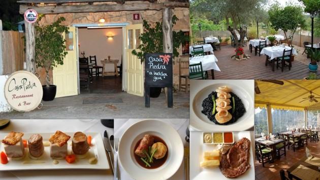 Restaurante CASA PIEDRA Carretera Cala Llonga, Pol. 18,  nº 42 07849   Cala Llonga  -  Ibiza (Eivissa)                     Telf.  (+34)  971 196 558  -  679 905 620   Menús especiales para grupos