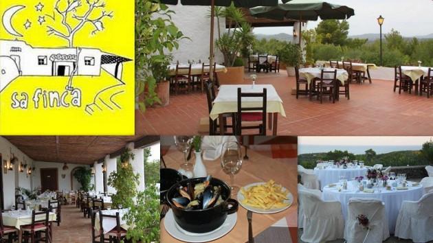 Restaurante SA FINCA Urb. Buenavista, 92  -  Siesta  -  07840  Santa Eulária des Riu  -  Ibiza (Eivissa) Telf.  971 330 638   RESTAURANTE SA FINCA se dedica a prestar un esmerado servicio de hostelerí