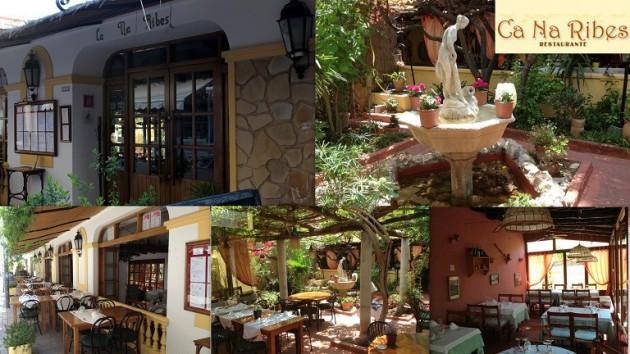 Restaurante CA NA RIBES       Restaurante desde 1926 C/ Calle Sant Vicent, 44 07840  Santa Eulária des Riu    -    Ibiza (Eivissa) Telf.  971 33 00 06       - Cocina Ibicenca y Mediterranea -