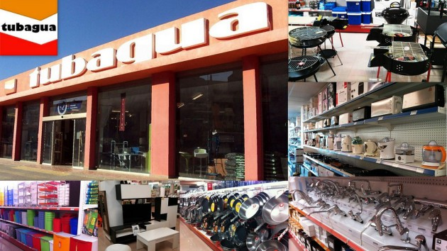 Bricofer TUBAGUA Avenida Sant Jordi, 10       07800  Ibiza (Eivissa) Telf.  (+34)  971 306 513   Empresa dedicada a la venta y asesoramiento de productos de bricolage, ferreteria, herramientas, electr
