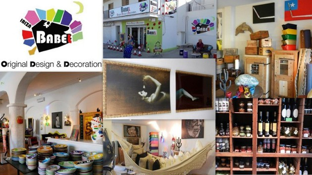 Tienda BABEL Ctra. Ibiza a Santa Eulália, km 4,2 07819  Cana Negreta  -  Ibiza (Eivissa) Telf.  672 743 138   babel.ibiza@gmail.com   Arte – Cocina – Diseño – Muebles – Regalos
