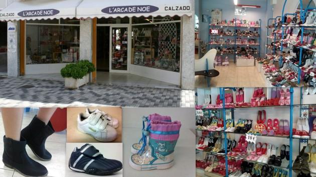 Calzado L'ARCA DE NOE    Calle Castilla,  5  (Plaza Sa Graduada) 07800  Ibiza (Eivissa)                     Telf.  (+34)  971 300 089  -  625 039 004   Zapateria infantil con gran variedad de modelos
