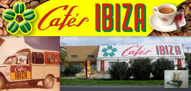 CAFÉS IBIZA Carrt. Sant Joan   km. 5   Santa Eulária -  Ibiza (Eivissa) Telf. 971 314 468   Especialista en cafés desde 1958