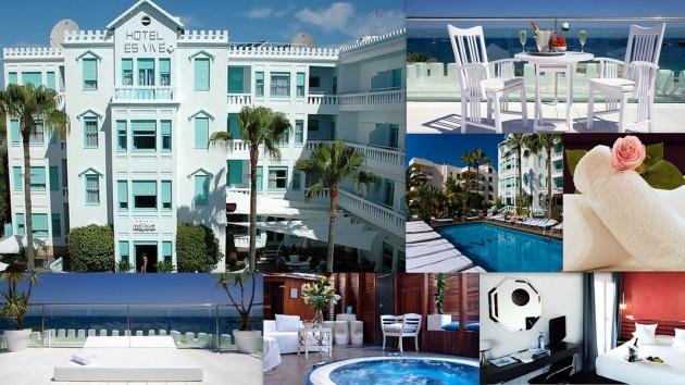 Hotel ES VIVE    Calle Carlos Román,  8  (Es Vivé) 07800  Ibiza (Eivissa)                     Telf.  (+34)  971 301 902  -  971 301 738   Es una emoción, una sensación, el arquetipo mismo de la fama