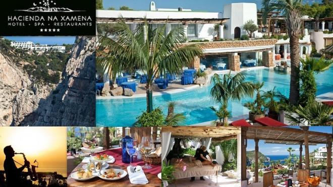 HACIENDA NA XAMENA Hotel  Spa  Restaurant *****    Urb. Na Xamena - Buzón 11 07815  Sant Miquel  -  Ibiza (Eivissa)                     Telf.  (+34)  971 334 500