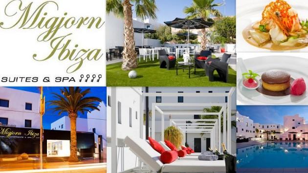 MIGJORN IBIZA Suites & Spa ****    Calle Begonias, 12-18  -  Playa den Bossa 07800   Ibiza (Eivissa)                     Telf.  (+34)  971 393 573   A cien metros de la extensa y seductora Playa d'en