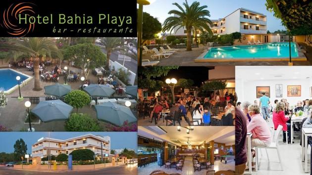 Hotel  Bar  Restaurante BAHIA PLAYA    Avenida San Agustín,  205  (Port des Torrent) 07829   Sant Agustí  -  Ibiza (Eivissa)                     Telf.  (+34)  971 342 868   Hotel climatizado y un bar