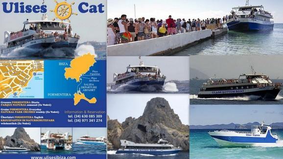 Cruceros ULISES CAT Excursiones en barco entre Ibiza y Formentera   Telf.   (+34)  659 791 715      info@ulisesibiza.com
