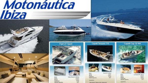 Motonáutica Ibiza Oficina Charter y tienda: Paseo Juan Carlos I - Puerto Marina Ibiza 07800  Ibiza  (Eivissa) Telf.  +34  971 315 464      ALQUILER DE BARCOS CON O SIN PATRON