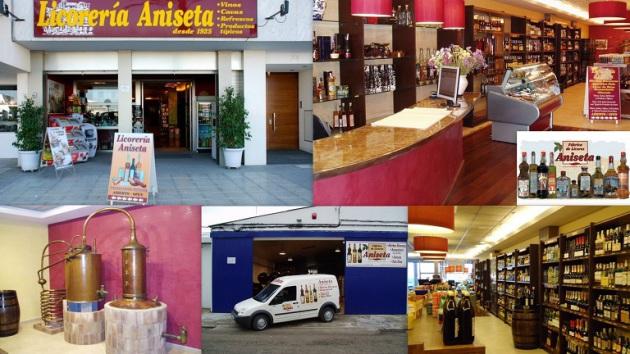 Licorería ANISETA           - Casa Fundada en 1925 - Avda. Santa Eulária, 19 Ibiza  (Eivissa) (Frente a la Estación Marítima de Formentera) Telf.  (*34)  971 318 769       aniseta@eresmas.com